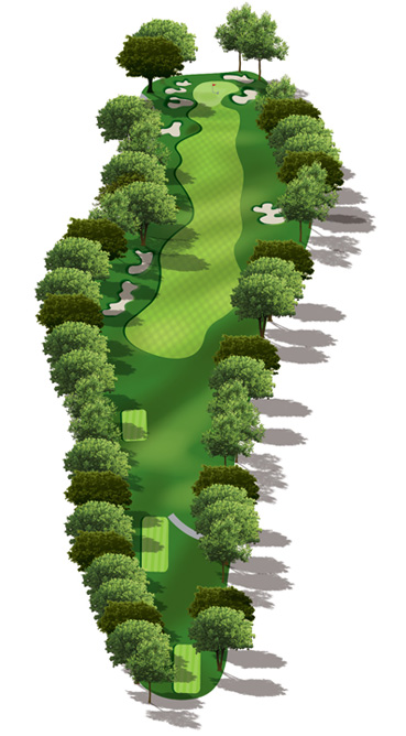 Hole 18 Map