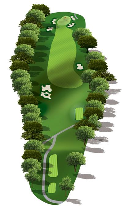 Hole 2 Map