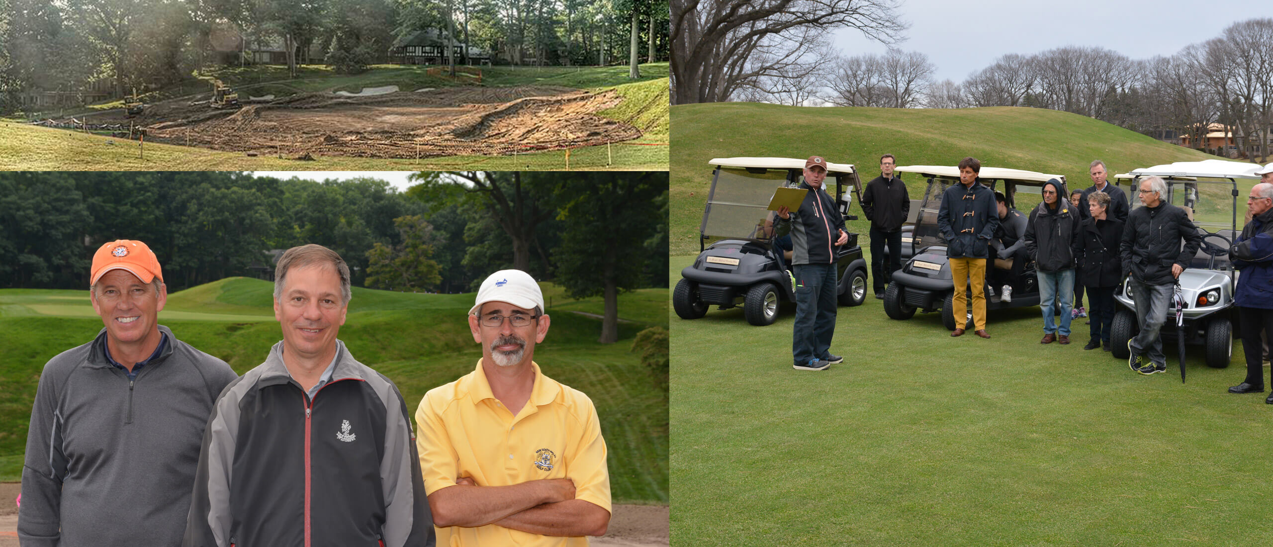 2014-2015 – The Greens Restoration Ushers in a New Era of Golf