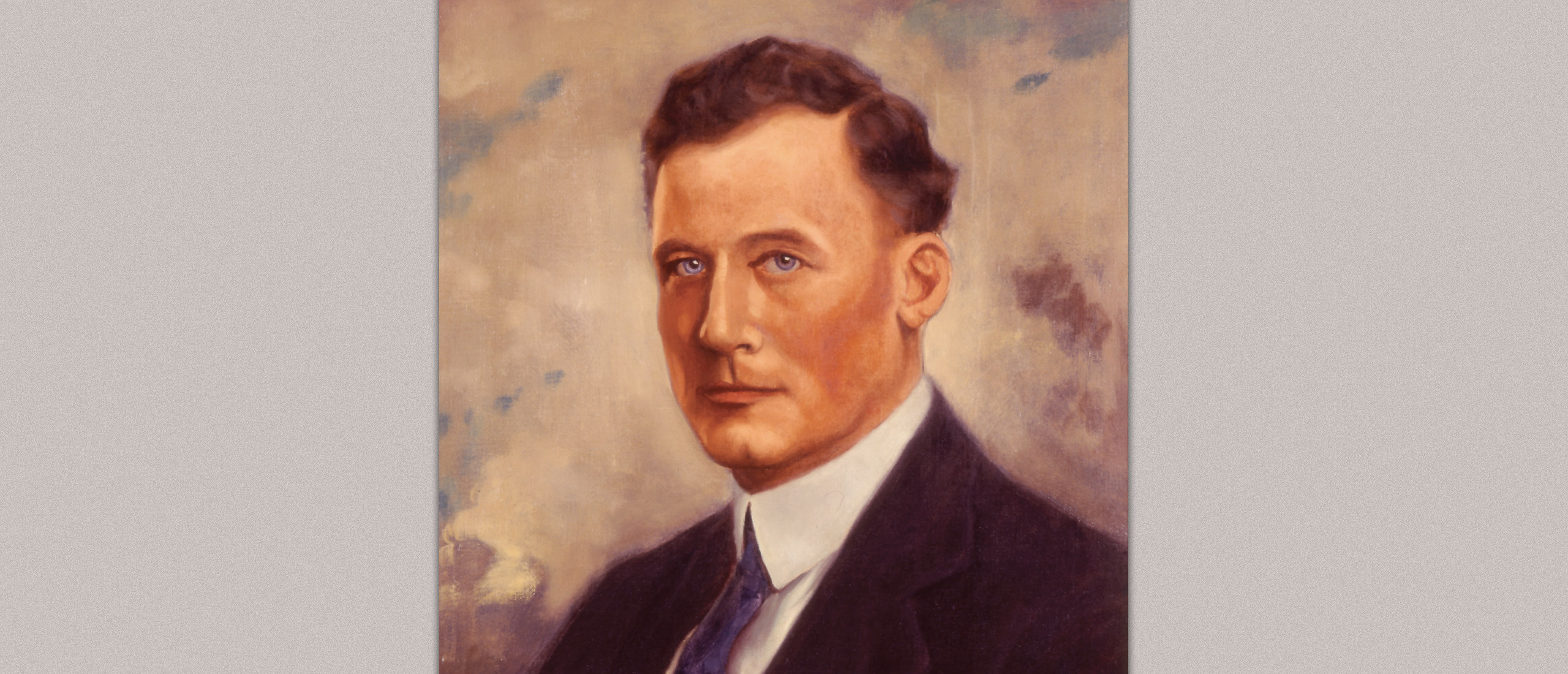 1929 – The Club's First President, Home Smith