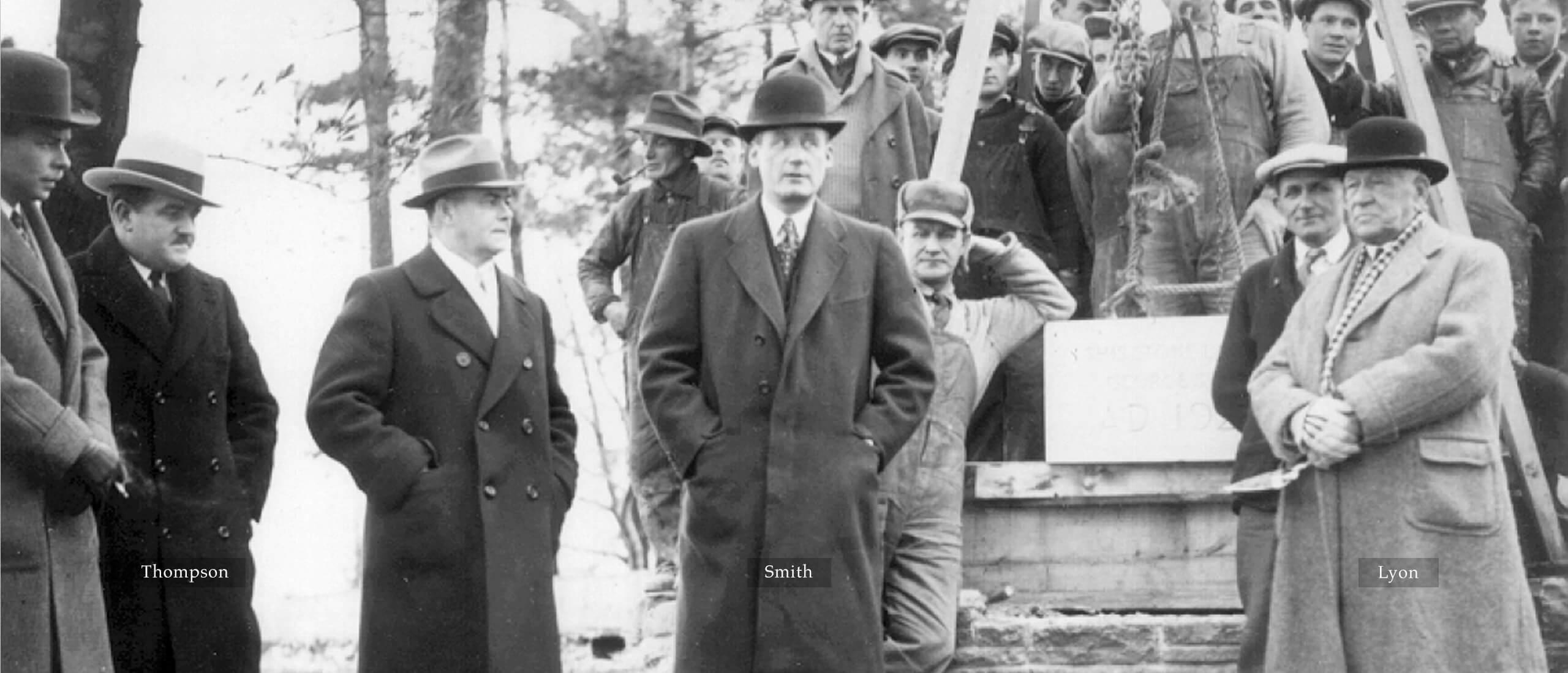 The 1929 Trio – Thompson, Smith & Lyon