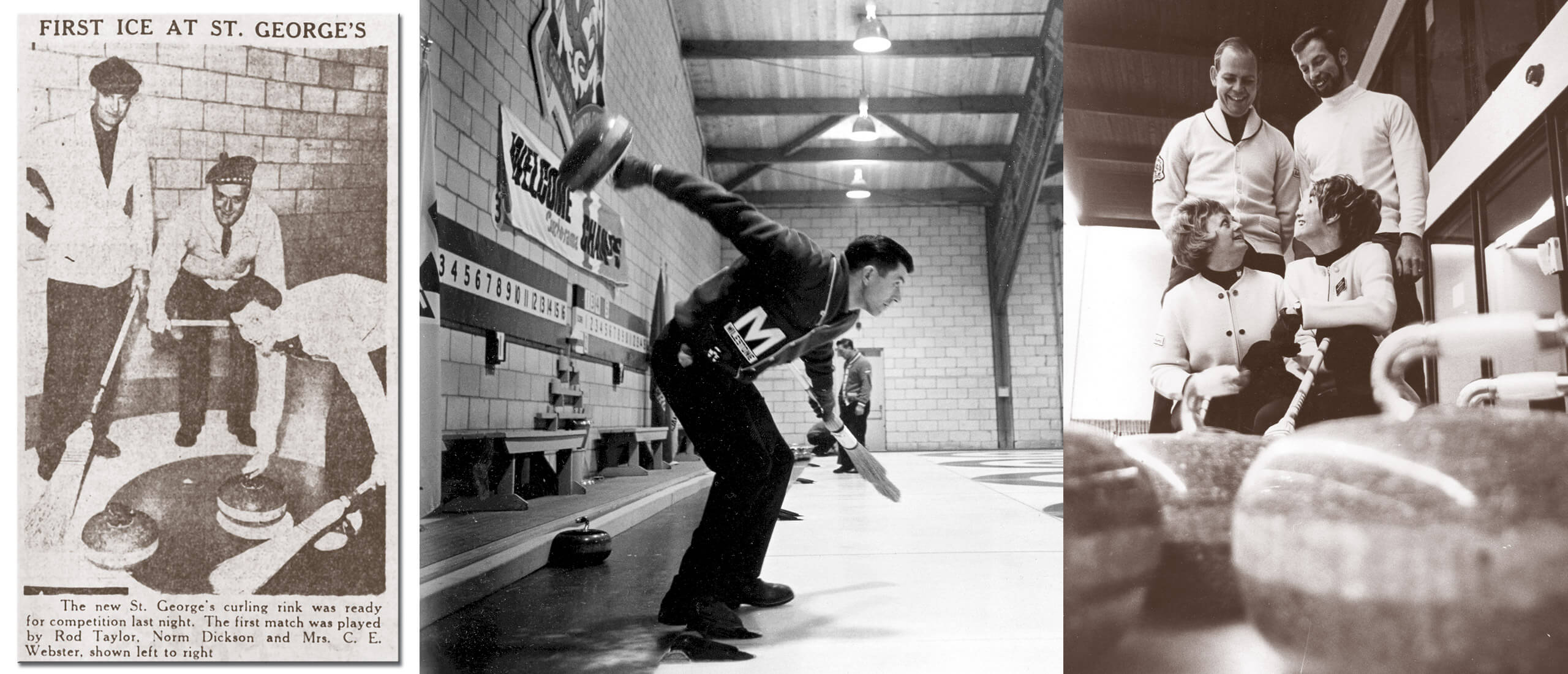 1957 – Curling Debuts at St. George's