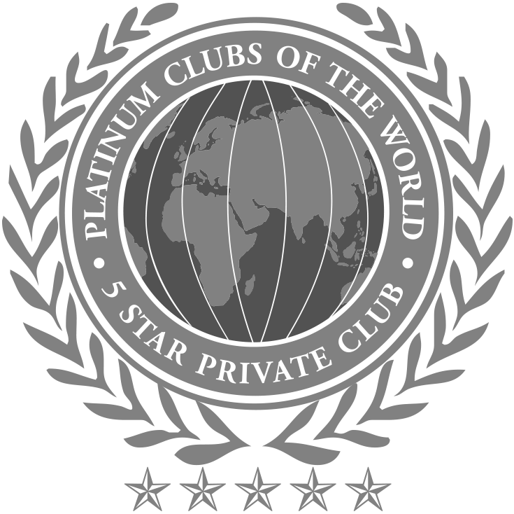 Platinum Clubs of the World 5 Star Private Club Logo