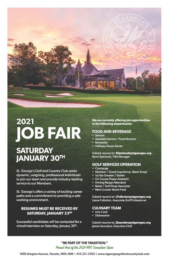 Job Fair details